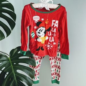 Disney ugly Christmas sweater Minnie pajamas 4T🎄